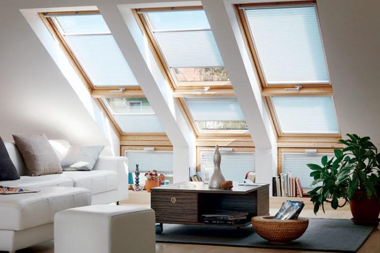 Мансардне вікно – функціональний елемен дизайну